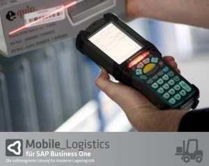 Neue mobile Lagerlösung für SAP Business One
