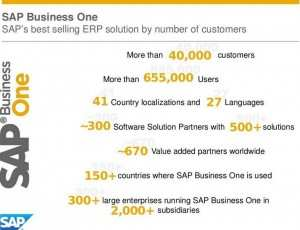 SAP Business One  Marktzahlen