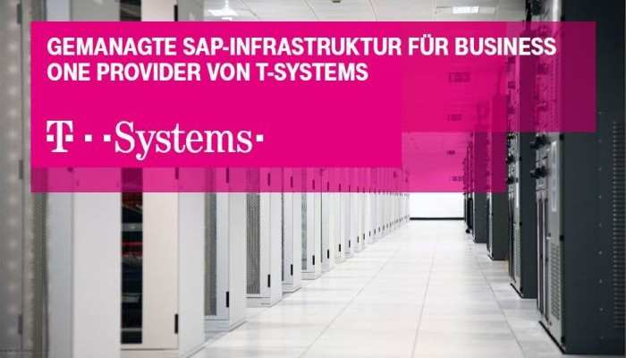 T-Systems provides infrastructure for SAP Business One on Demand