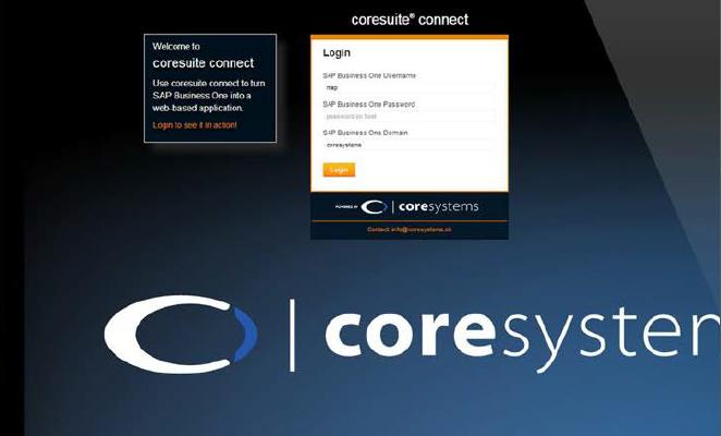 Mit coresuite connect aus SAP Business One eine HTML5 Anwendung machen