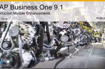 SAP-B1-Produktion