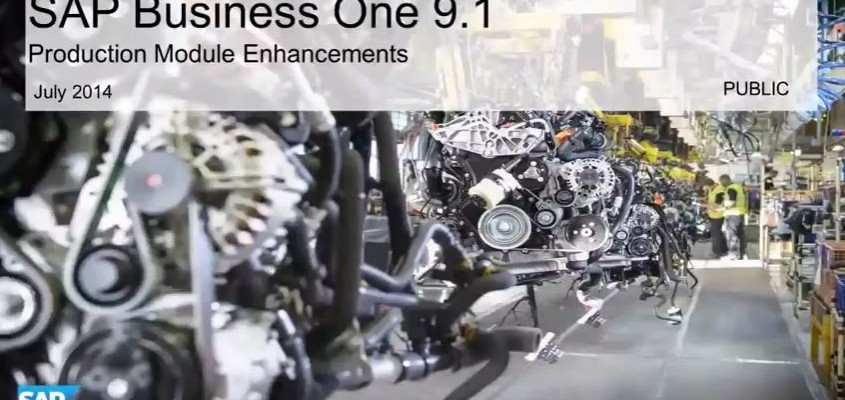 Neue Features in SAP Business One 9.1