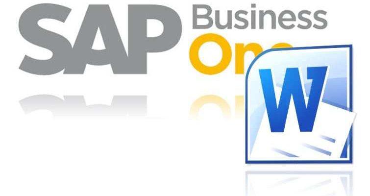Mit Sap Business One Briefe Schreiben