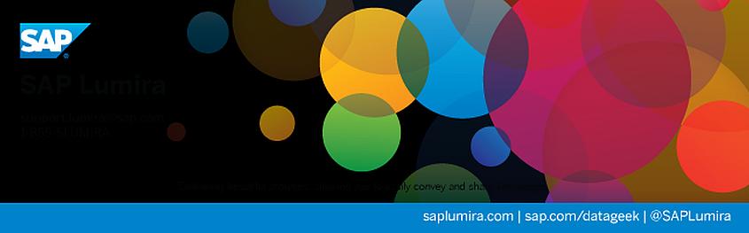 Unternehmensdaten visualisiert mit SAP Lumira