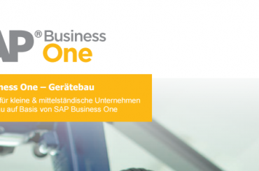 SAP_Business_One_Gerätebau