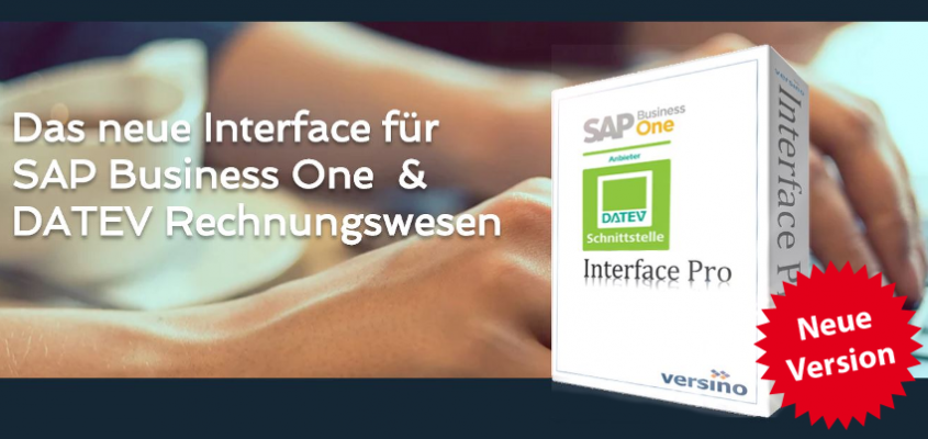 VERSINO DATEV Interface/ Financial Suite HANA ready