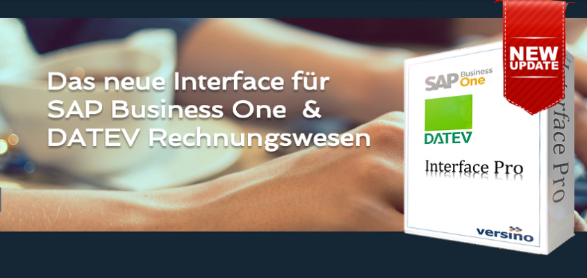 Neue Version SAP Business One – DATEV Schnittstelle