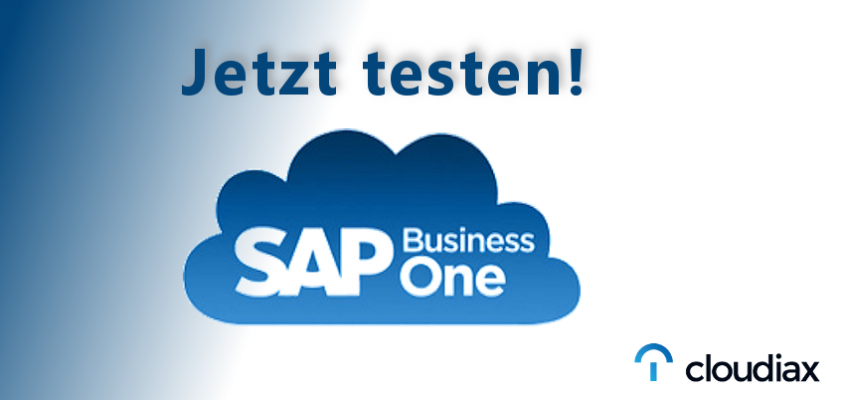 Jetzt die SAP Business One Cloud testen
