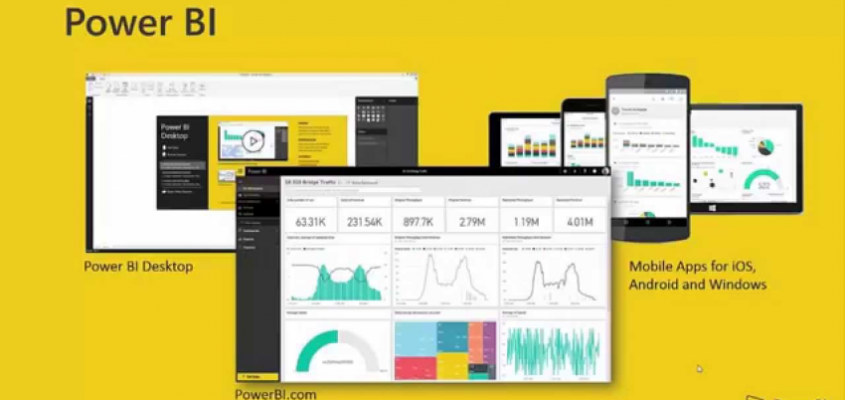 Power BI Desktop Grundkurs bei Video2Brain