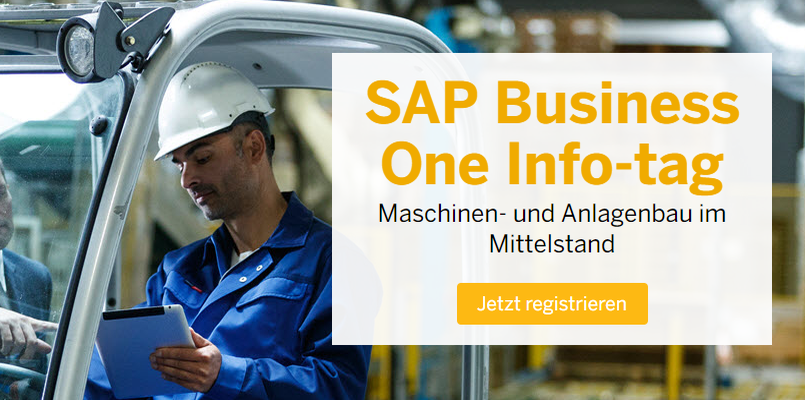 SAP Infotag 2017 Maschinen- & Anlagenbau