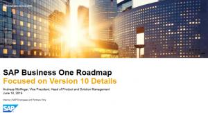 SAP Business One 10 Vortrag