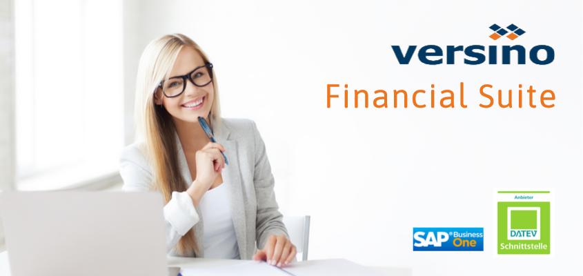 Versino Financial Suite (DATEV ADDON) – Mehr als gedacht
