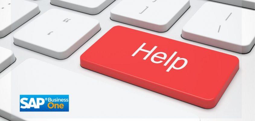 SAP Business One Hilfe 2020