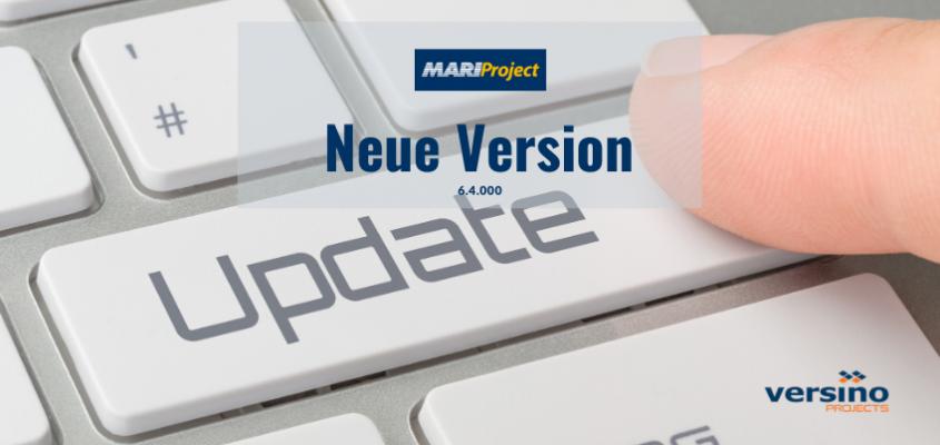 Neue Version – MariProject 6.4