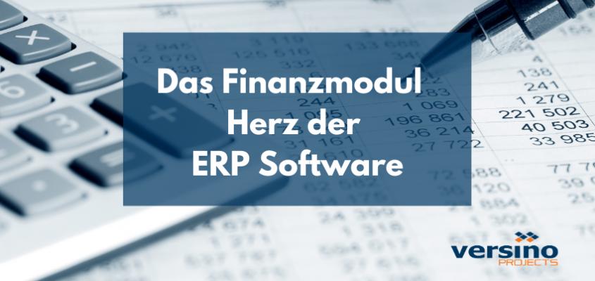 Das Finanzmodul – Herz der ERP Software