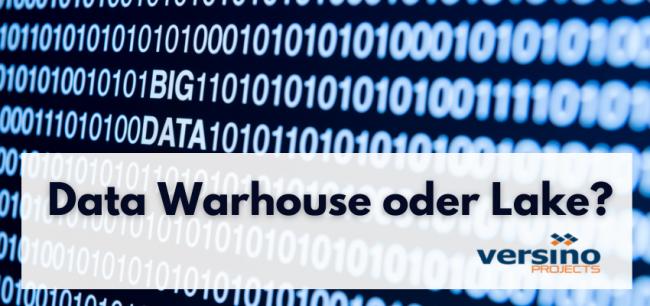 Data Lake Vs Warehouse