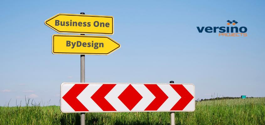 SAP Business One vs SAP Business ByDesign