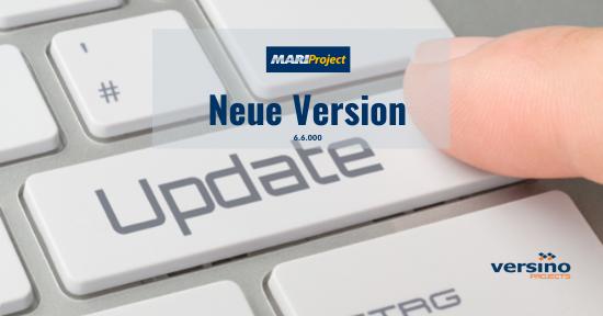 Neue Version – MariProject 6.6